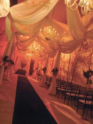 Orange Wedding Decor For Every Season
