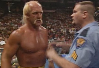 WWF / WWE - SUMMERSLAM 1990: Hulk Hogan had Big Boss Man in his corner