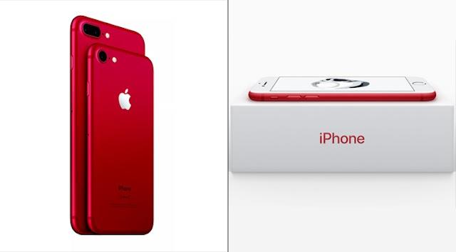 أبل تُعلن عن اطلاق نسخة ايفون 7 الأحمر، فما السر ؟