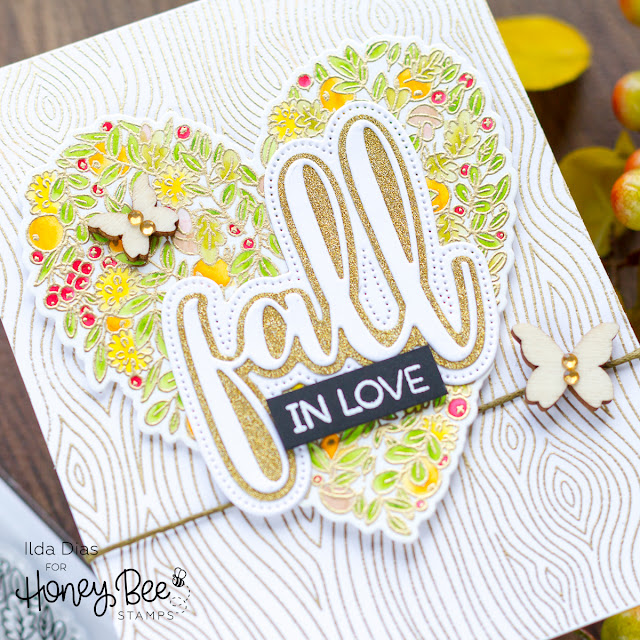 Honey Bee Stamps Autumn Blessings Blog Hop | Day 2 + Giveaway by ilovedoingallthingscrafty.com