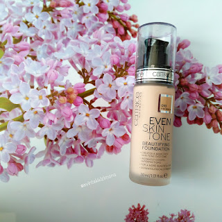 CATRİCE EVEN SKİN TONE  BEAUTIFYING FOUNDATION