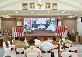 Bupati Batu Bara Hadiri Rapat Koordinasi Bersama Gubernur Edy Rahmayadi