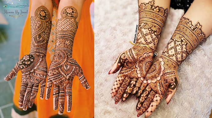 Bridal Henna Mehndi Designs for Full Hands | Mehndi Creation