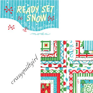 Moda READY SET SNOW Christmas Quilt Fabric by Me & My Sister Designs