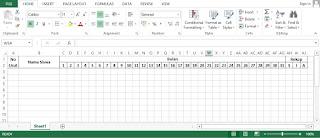 Cara Mudah Membuat Aplikasi Administrasi Penilaian Kelas Dengan Ms Excell