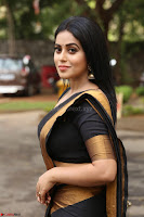 Poorna in Cute Backless Choli Saree Stunning Beauty at Avantika Movie platinum Disc Function ~  Exclusive 062.JPG