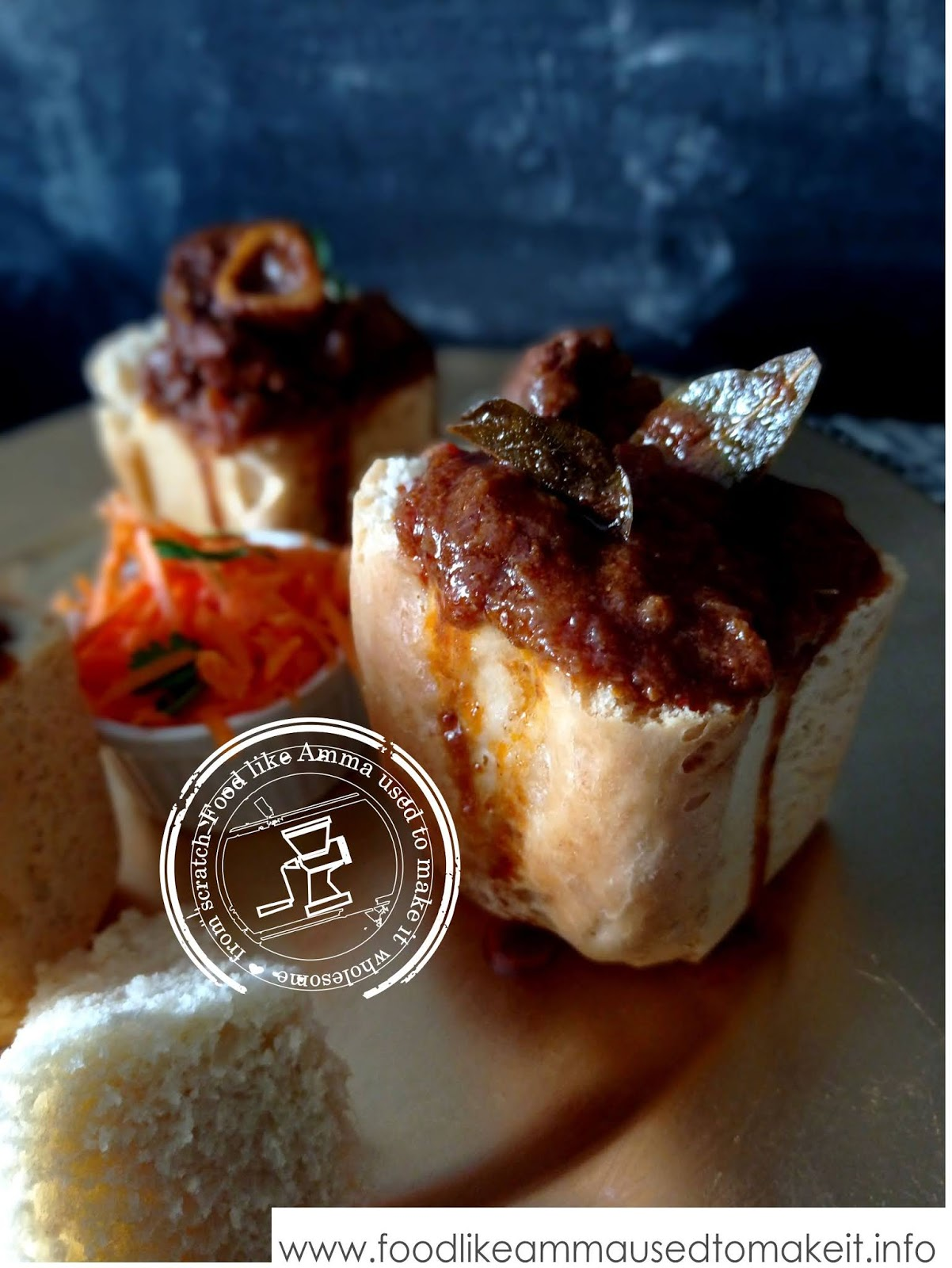 mutton bunny chow curry