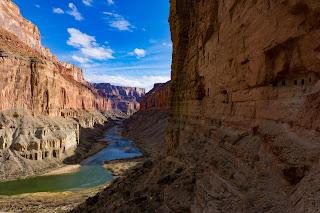 Nankoweap Granaries WhereIsBaer.com Chris Baer Grand Canyon of the Colorado river arizona view green river