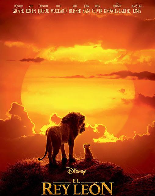 Cartel de la película El Rey León