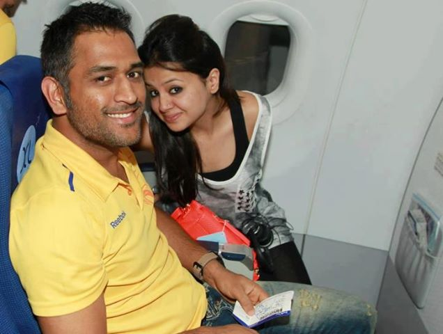 MS Dhoni Family - Parents, Sibblings, Wife, Children