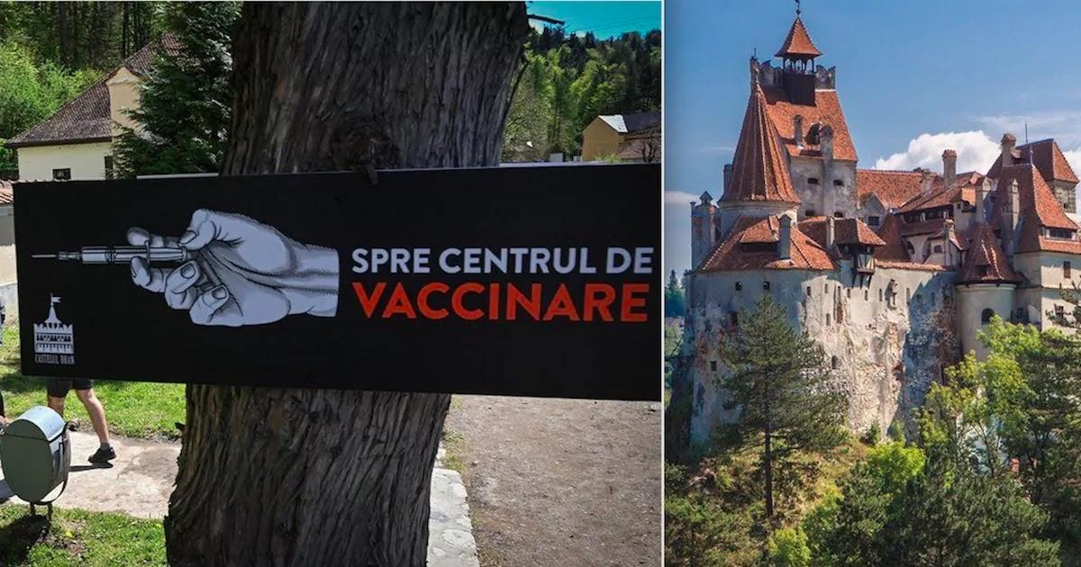 Dracula Castle In Romania Offers Tourists CoViD-19 Vaccine