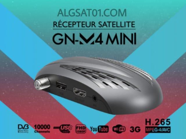 تحميل افضل ملف قنوات جهاز جيون GN-M4 MINI