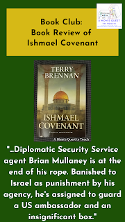 "cover of Ishmael Covenant Book; ""Diplomatic Security Service agent Brian Mullaney is at the end of his rope. Banished to Israel as punishment by his agency, he's assigned to guard a US ambassador and an insignificant box."""