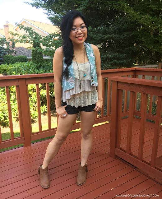 OOTD Inspo Country Concert Style - Andrea Tiffany A Glimpse of Glam