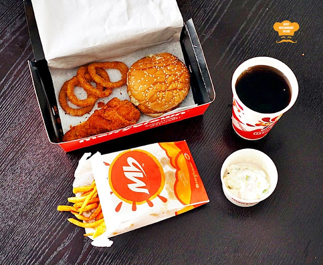 Marrybrown MB Mala Fried Chicken Mala-tup Box Meal Combo Set
