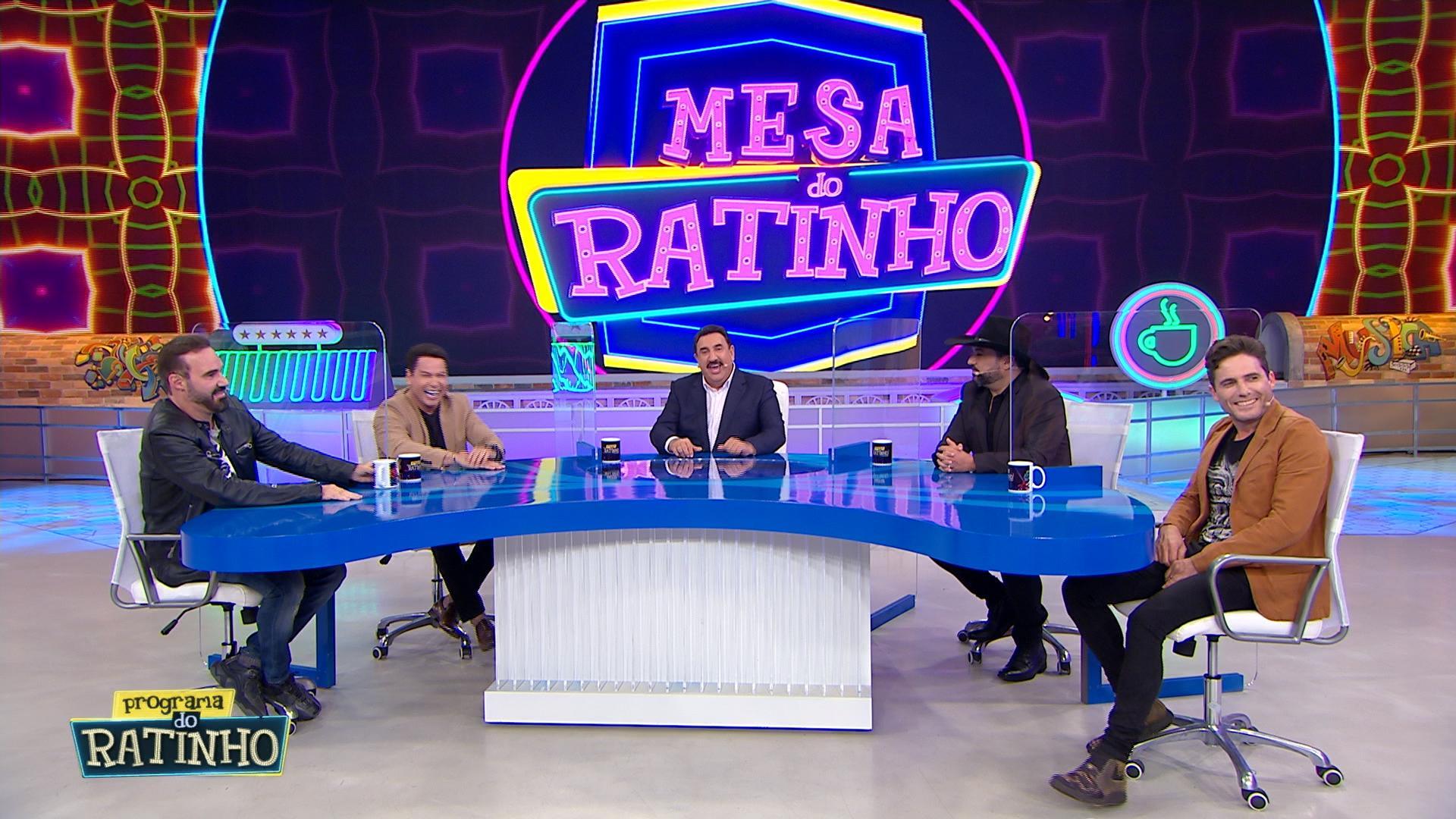 Mesa do Ratinho – Foto: Divulgação / SBT.
