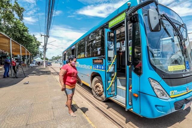 Transporte coletivo em Porto Velho ganha reforço de mais 7 ônibus