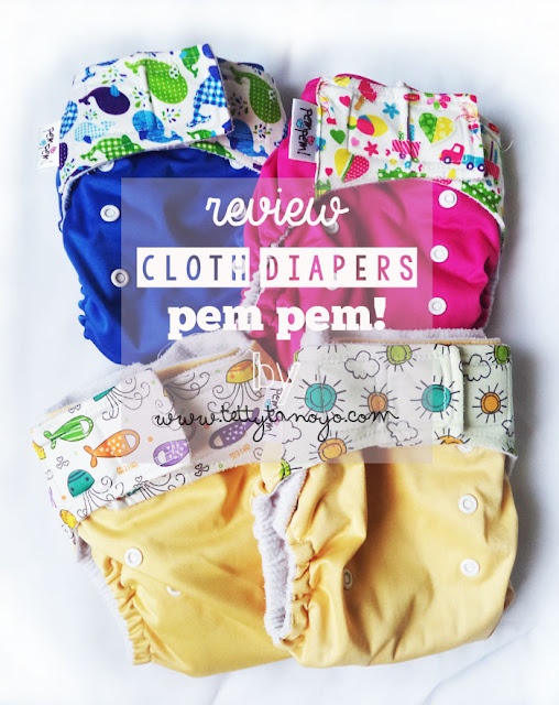 review clodi cloth diapers merk pempem