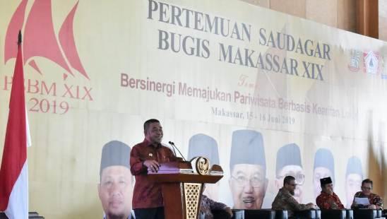 Dr. H. Zainuddin SH. MH Jadi Pembicara, Pada Pertemuan Saudagar Bugis - Makassar Ke XIX