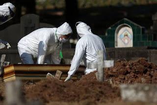 Brasil atinge marca de 400 mil mortes por Covid-19