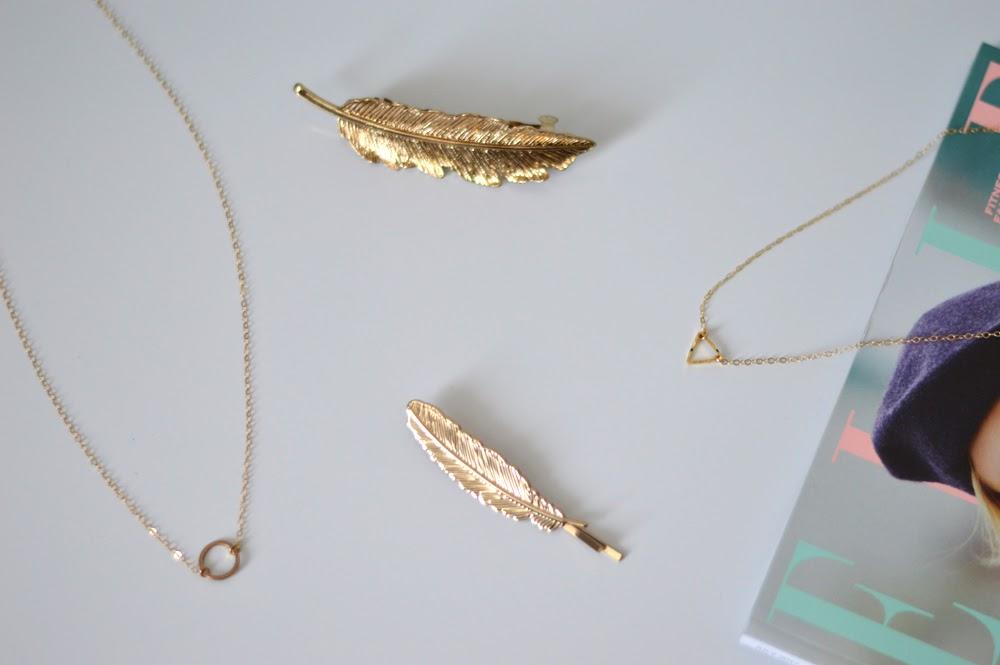 Gold Minimal Jewellery