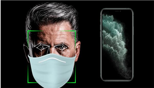 يعمل نظام ISO 13.5 الآن على إلغاء قفل الهاتف iPhone الخاص بك أثناء أرتداء القناع