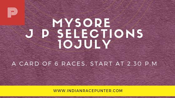 Mysore Jackpot Selections 10 July