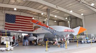 MQ-25A Stingray Tanker Drone