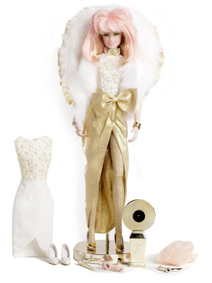 "San Diego Comic-Con 2013 Exclusive ""Glitter N' Gold"" Jem Doll by Hasbro"