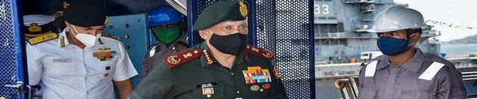Integration Among Three Services Key To Face Future Security Challenges: CDS