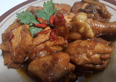 menu masakan rumahan sederhana ayam kecap