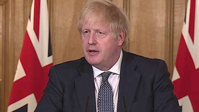 "Boris Johnson calls for ""truly global effort"" to combat COVID-19"
