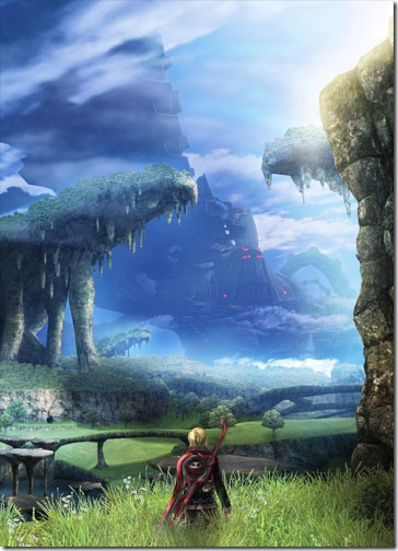 Xenoblade chronicles video games luscious
