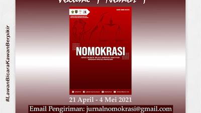 LeDHaK FH-UH Adakan Open Artikel Jurnal NOMOKRASI Vol 1