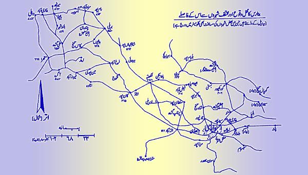 banaras-varanasi-railway-route
