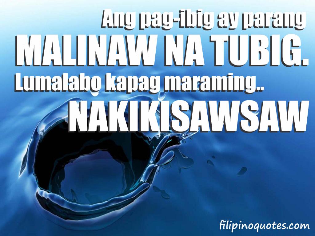 Mahal Kita Love Quotes Tagalog