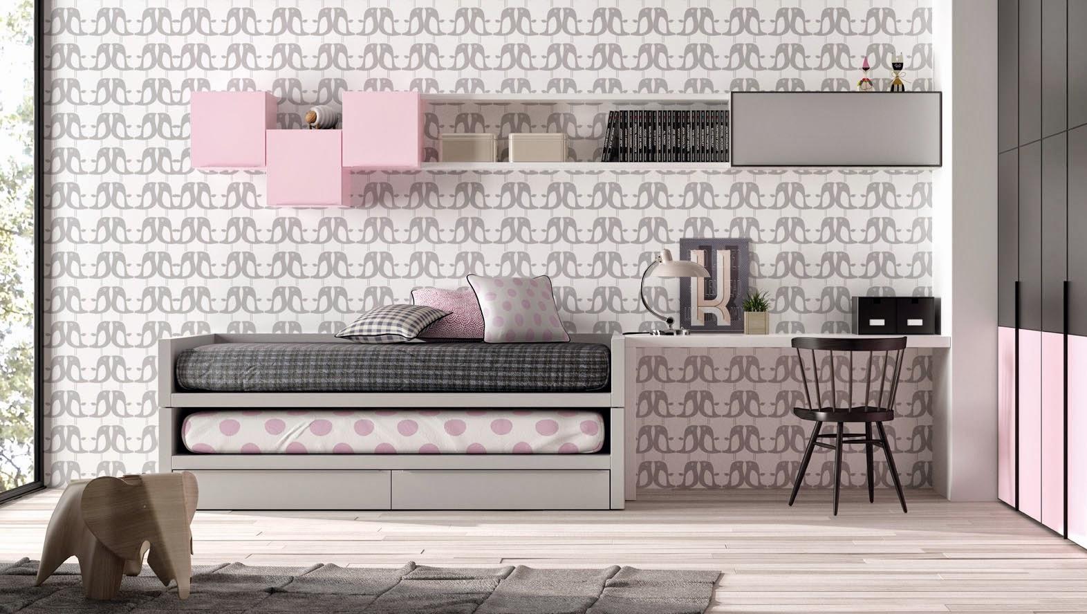 Dormitorio Juvenil Nio Finest Elegant Trendy Good Habitacin Juvenil