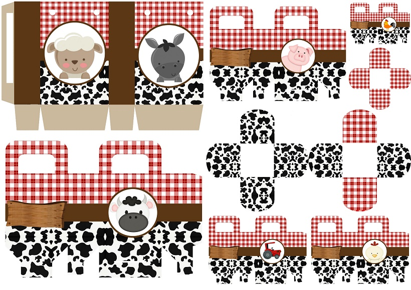 Baby Farm Free Printable Boxes Oh My Baby