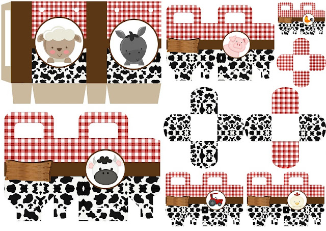 Baby Farm: Free Printable Boxes.
