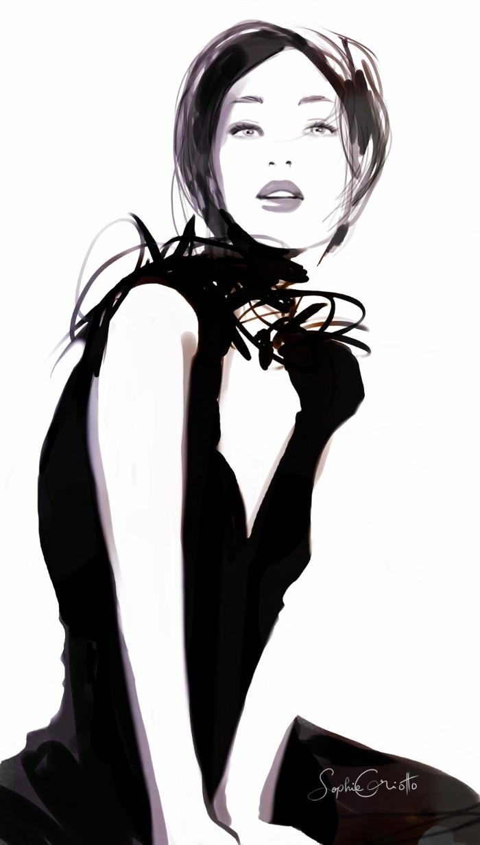 Красивые иллюстрации. Sophie Griotto 13