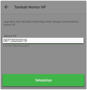 Cara Verifikasi Nomor HP di Tokopedia
