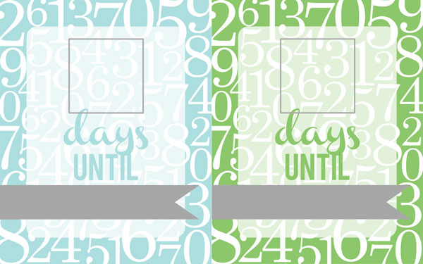 All Things Simple Free Printable Countdown Fill able Frame