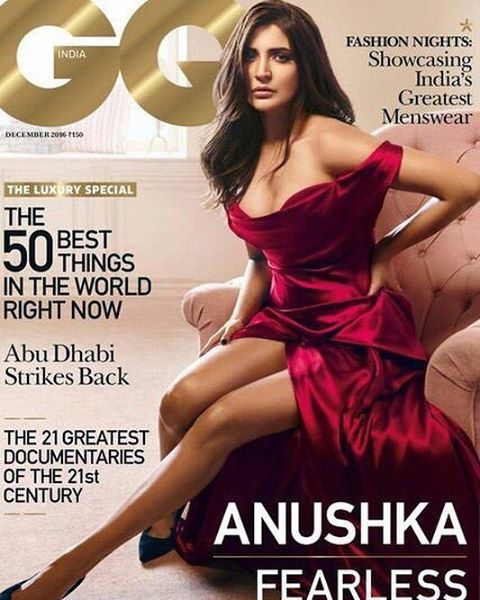 Bollywood Actress Anushka Sharma Hot Photoshoot Pics Actress Trend