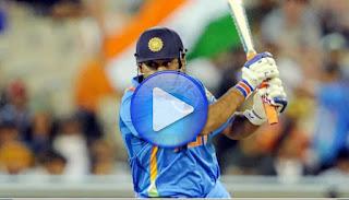 MS Dhoni 113 - India vs Pakistan 1st ODI 2012 Highlights
