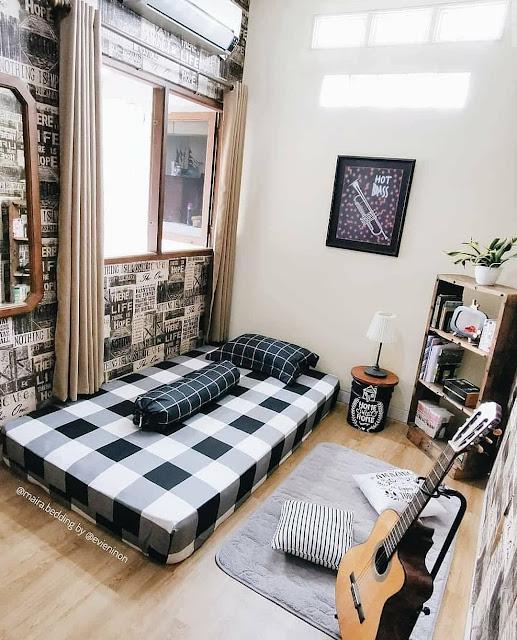 Kamar Tidur Remaja Laki-laki juga Sekaligus Area Pribadi