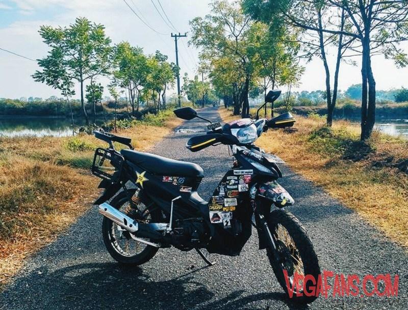 Vega Rr Hitam Modif Motor Touring Vegafanscom