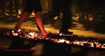 Fire Walking Training Jogja