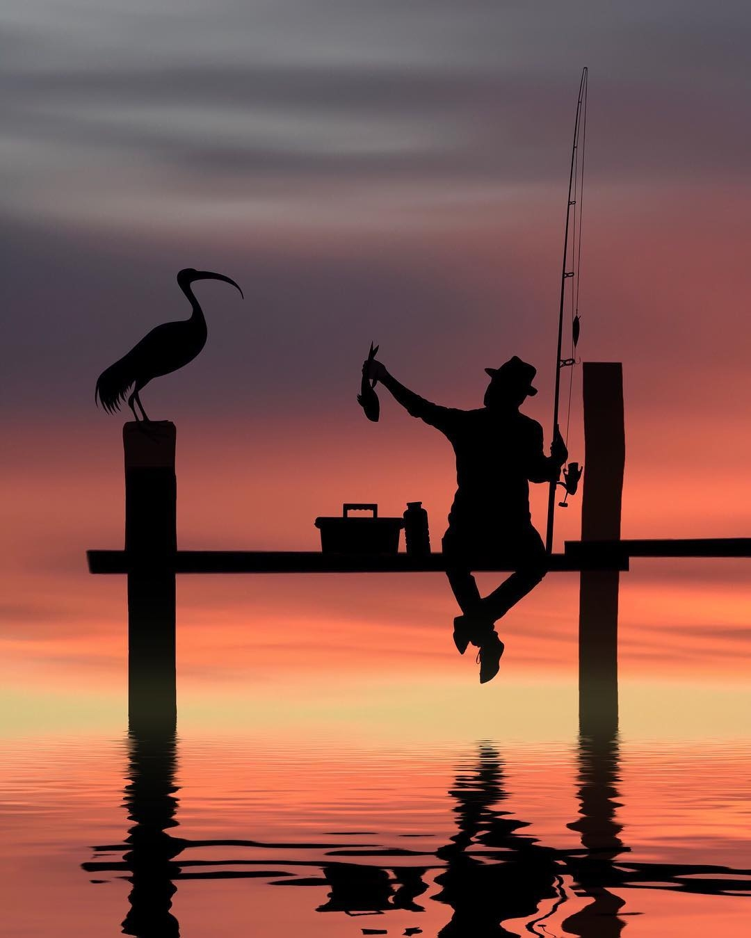 10-Fishing-Dominic-Liam-Beautifully-Manipulated-Pictures-at-Sunrise-www-designstack-co
