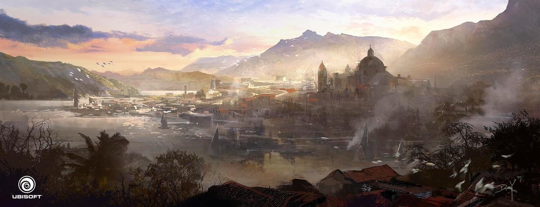 Donglu Littlefish Assassin S Creed Iv Black Flag Concept Art
