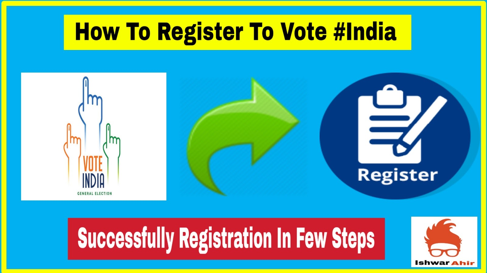 How to Register to Vote #India
